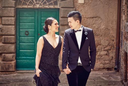 pre wedding italy