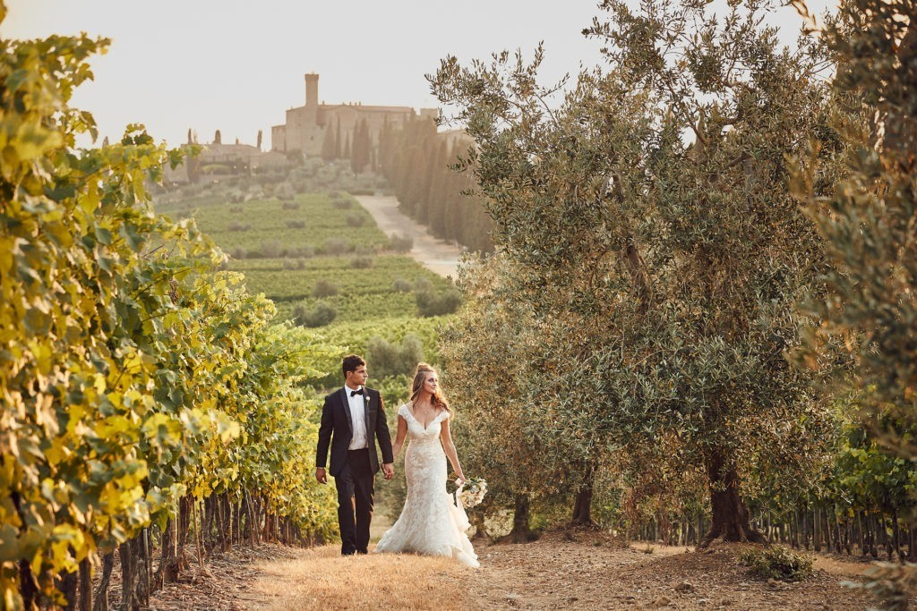 castello di banfi wedding elopement