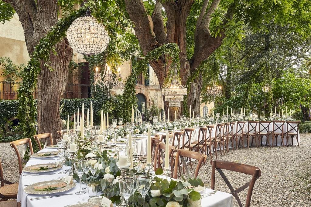 elegant english wedding near siena