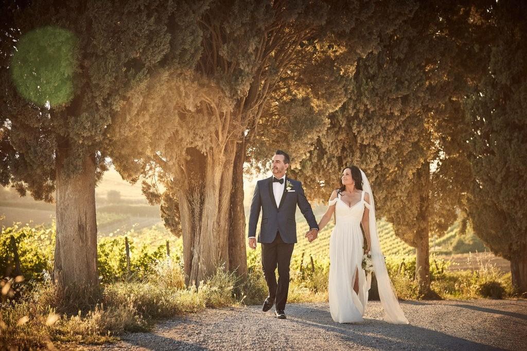 intimate villa di piazzano wedding