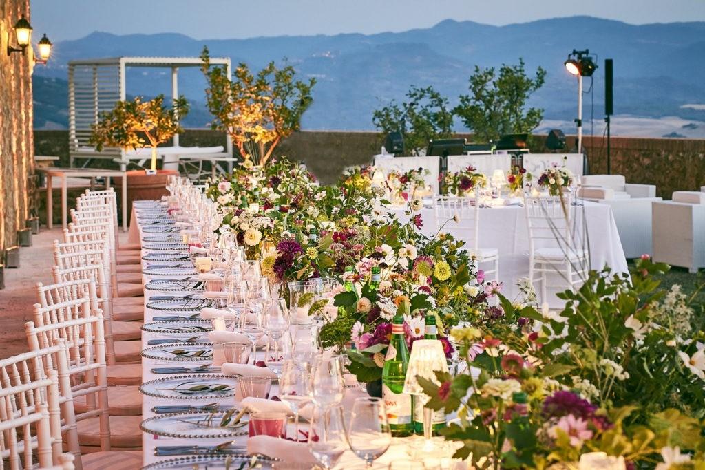 montalcino castle wedding