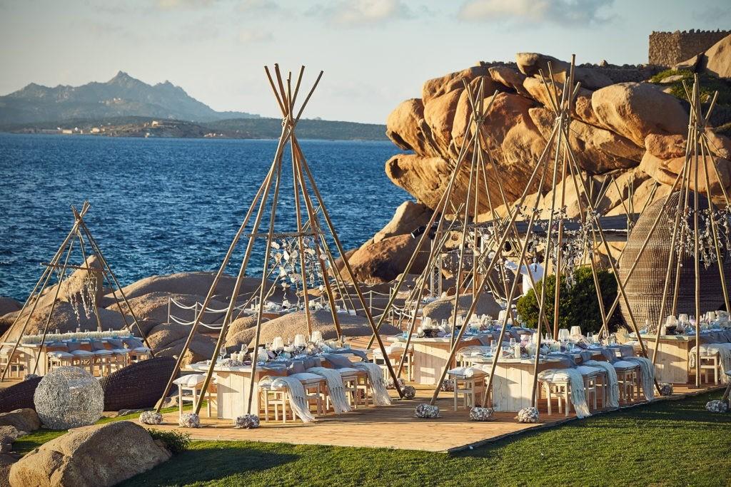 perfect sardinia beach party