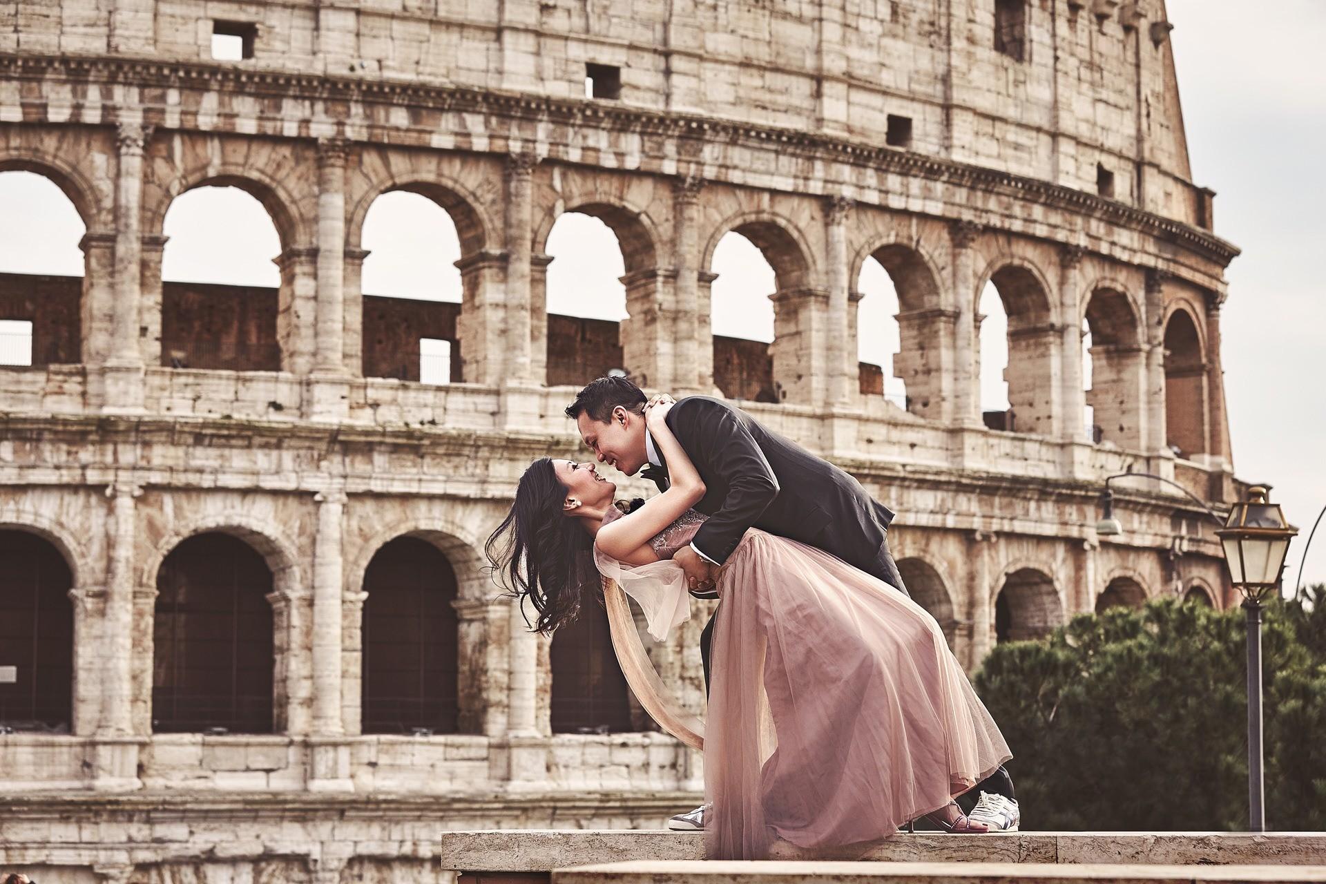 pre wedding rome