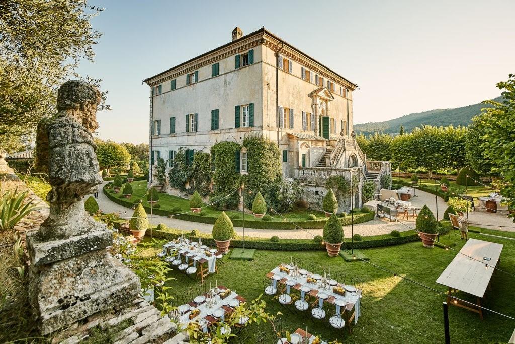 tuscan welcome dinner italian feast