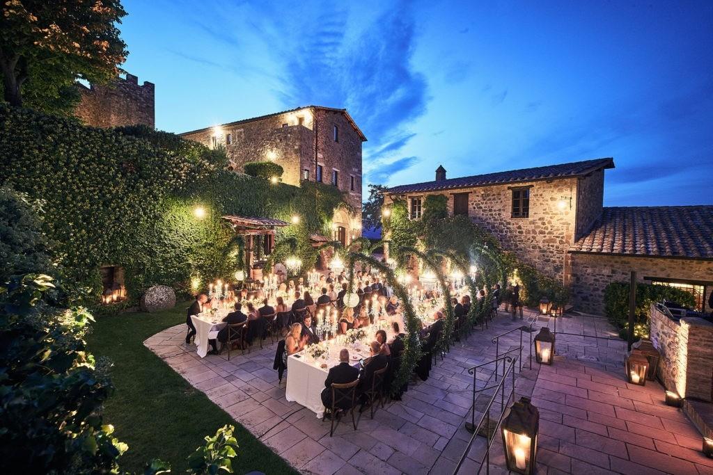 tuscan winery wedding