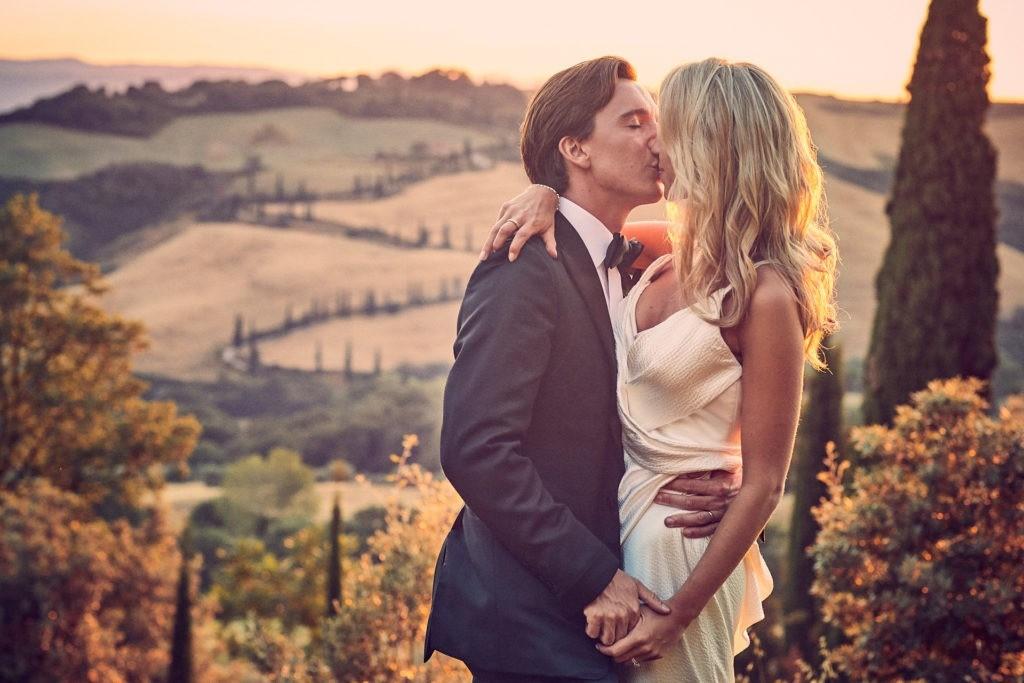 tuscany wedding la foce