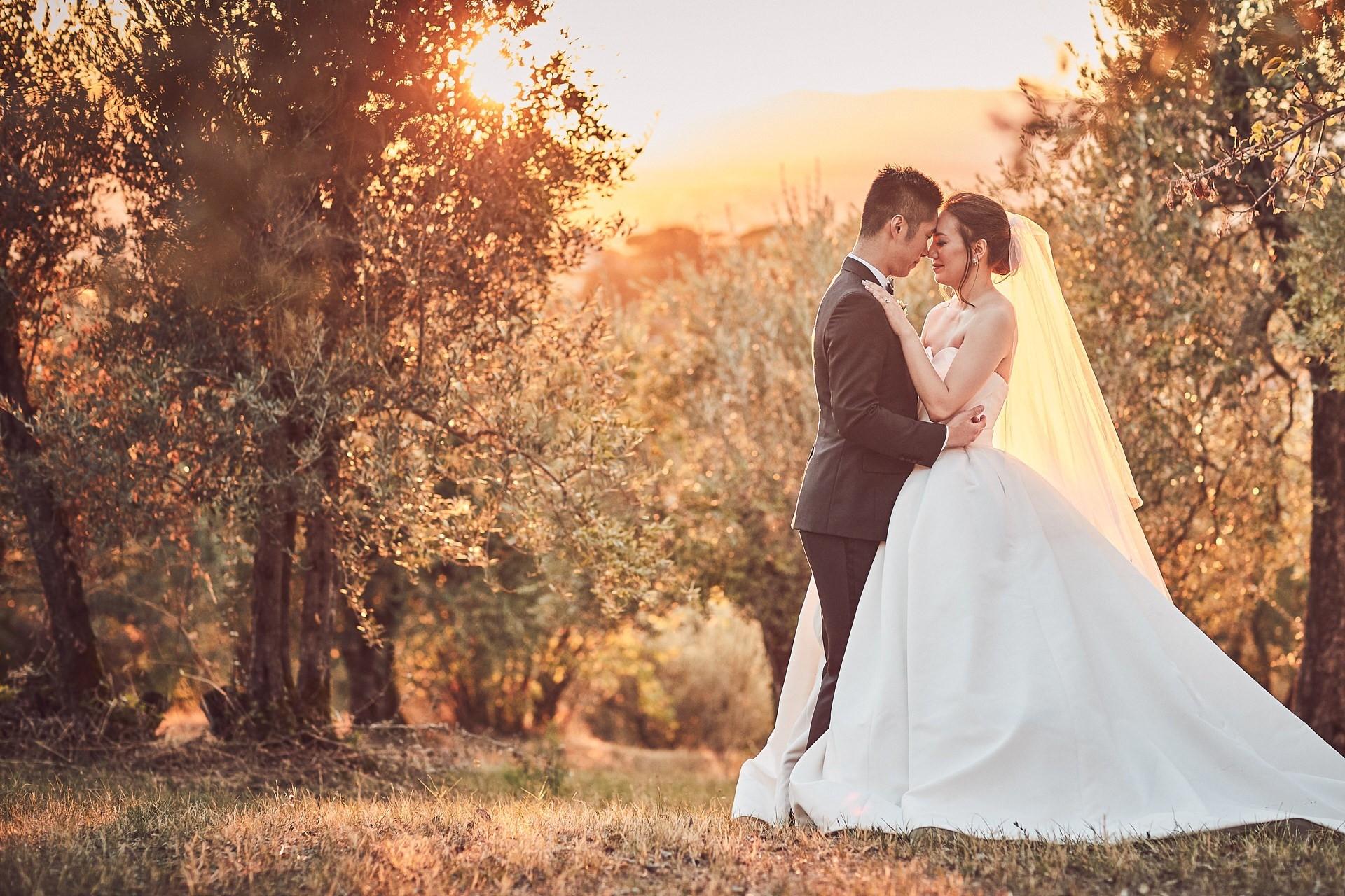 villa gamberaia wedding photographer